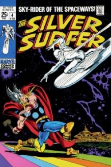 Silver surfer vol1 # 4 (0)