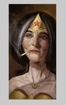 OLD WONDERWOMAN